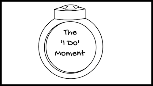 The 'I Do' Moment training video link.